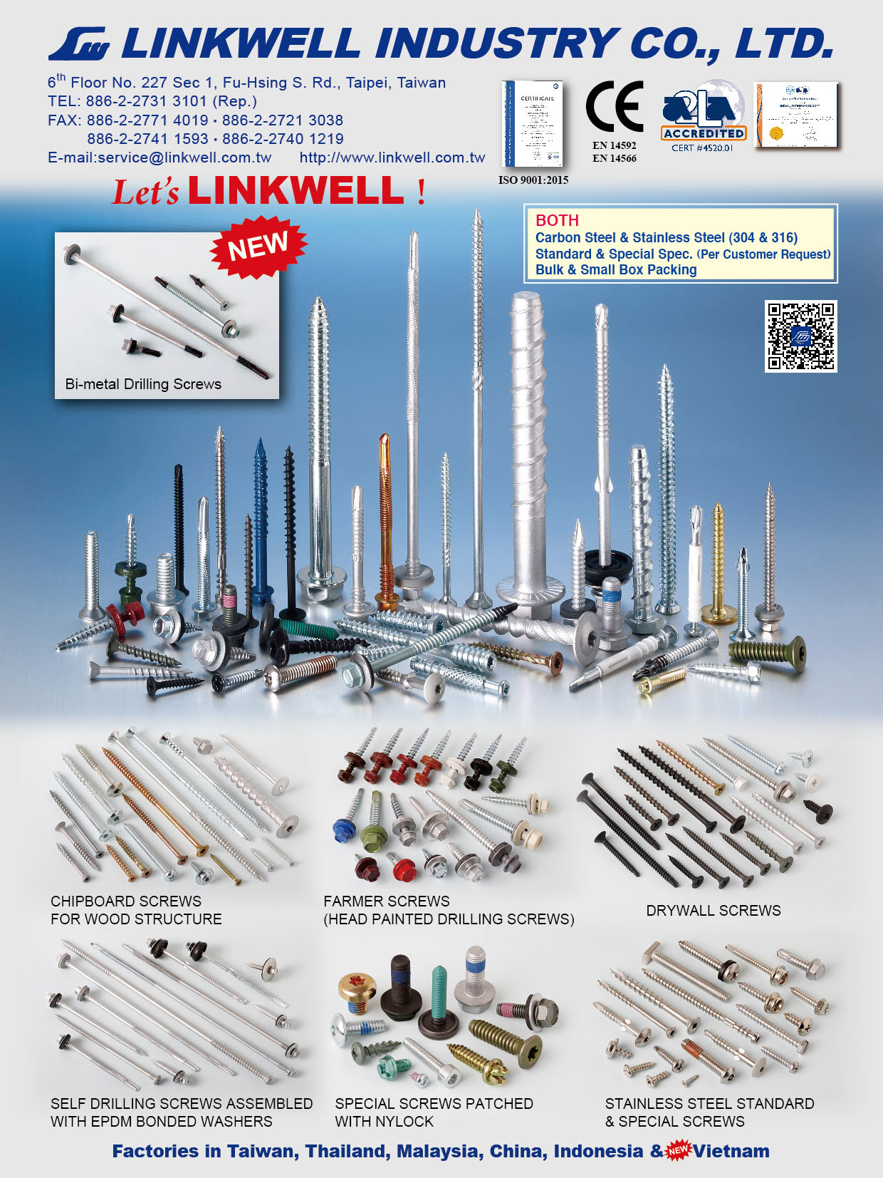 LINKWELL INDUSTRY CO., LTD. Online Catalogues