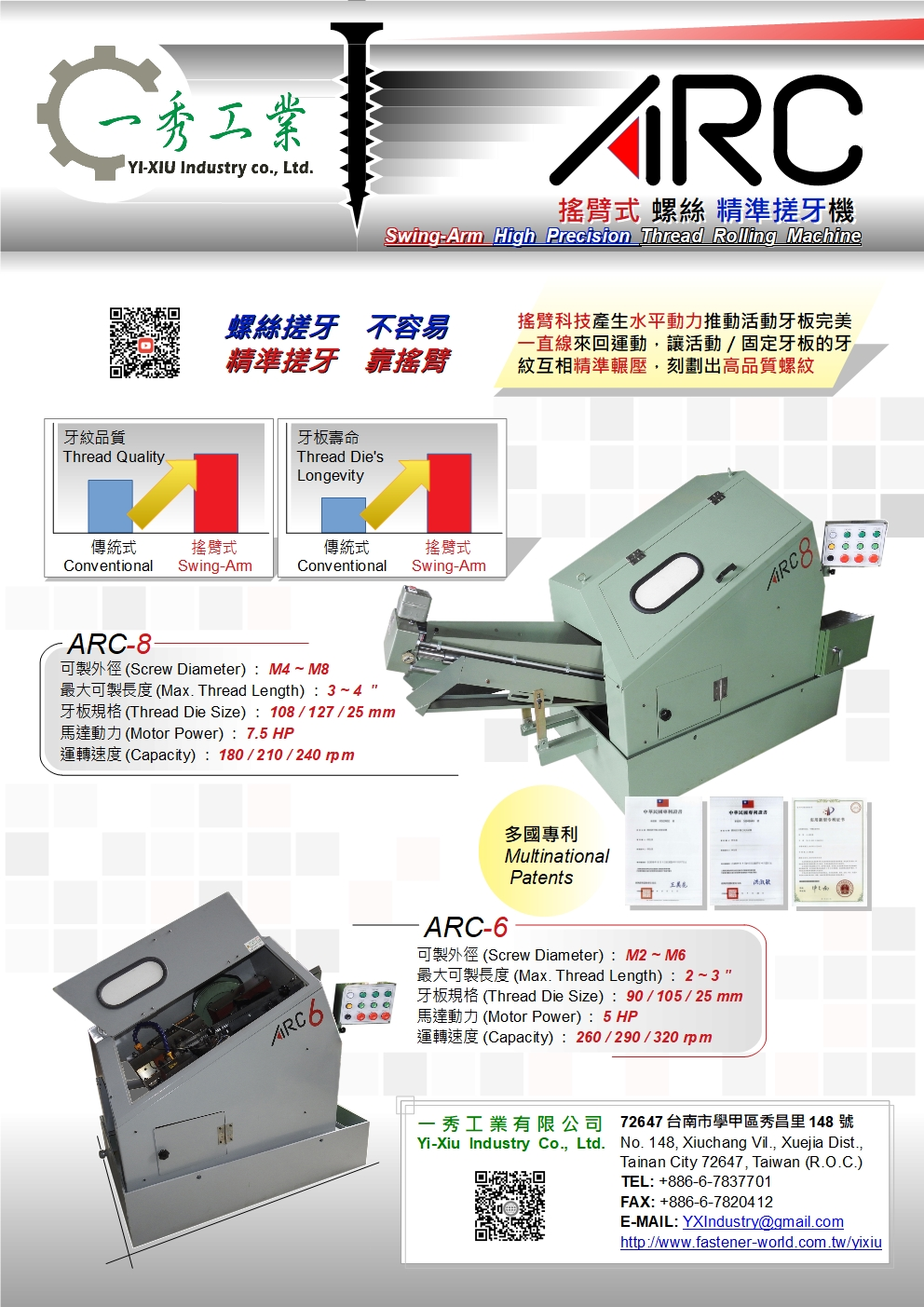 YI-XIU INDUSTRY CO., LTD._Online Catalogues