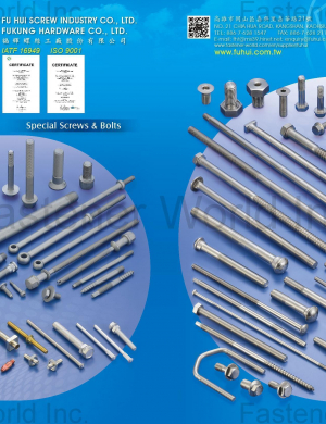 Special Screws & Bolts, Stainless Steel Bolts