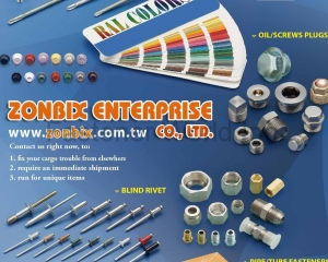 fastener-world(ZONBIX ENTERPRISE CO., LTD.  )