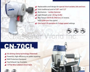 Pneumatic Nailers, Staplers, Air Tools(APACH INDUSTRIAL CO., LTD.)