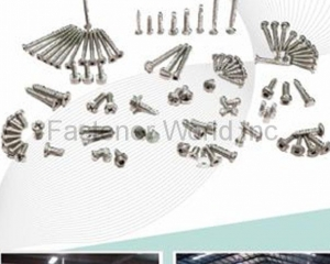 Stainless Steel Screws & Bolts, Machine Screws, Tapping Screws, Chipboard Screws, Sokcet Screws, Taptite Screws, Hex Socket Head Cap Screws, Hex Head Wood Screws(LINKWELL INDUSTRY CO., LTD.)