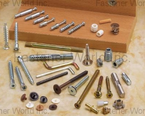 FURNITURE SCREWS / K/D Fixing Screw / Corner Connecting Screw / Confirmat Screw / Allen Key / Insert Nuts / Hanger Bolt / Wooden Dowel (LINKWELL INDUSTRY CO., LTD.)